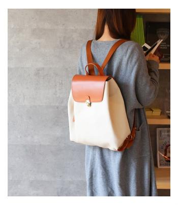 池田屋鞄のワンピースリュック