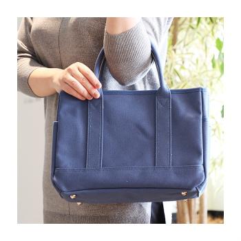 池田屋鞄のタケヤリ帆布カラートート